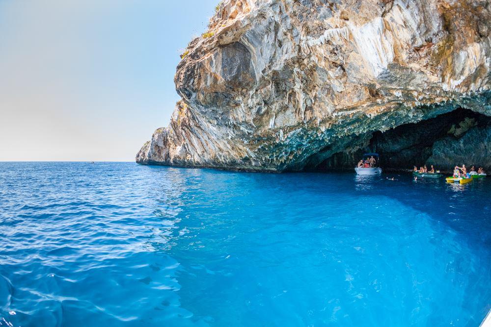 Grotta Azzurra - Entrata